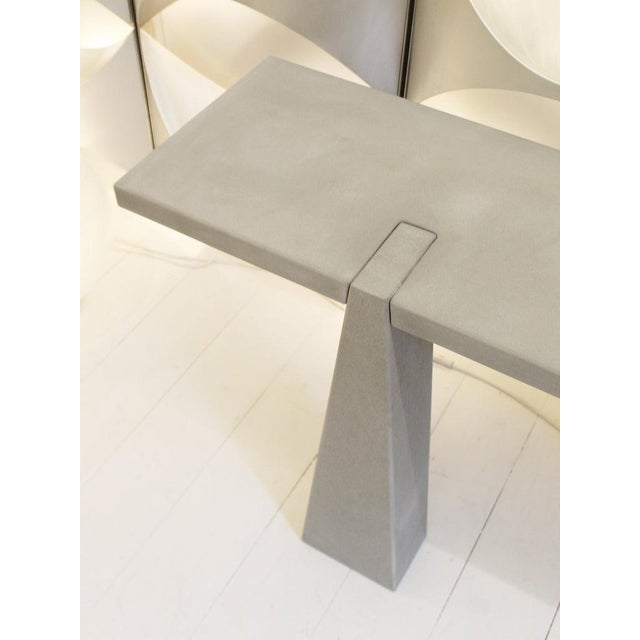 1970s Pietra Serena Stone Console by Angelo Mangiarotti for Skipper, Italy, 1978 For Sale - Image 5 of 7