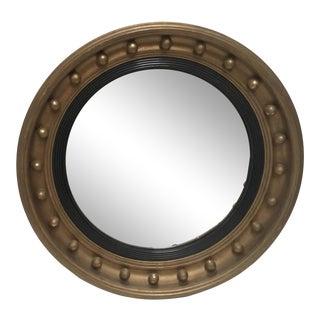 Antique Style Bullseye Mirror For Sale