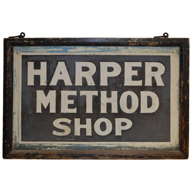 Sign for Shop Created by Martha Matilda Harper - Image 1 of 10