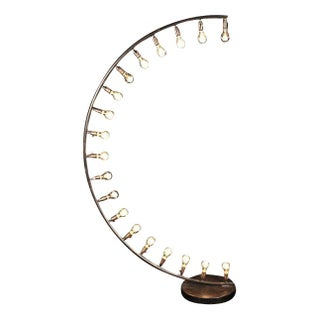 Curvature Light with Edison Bulbs For Sale