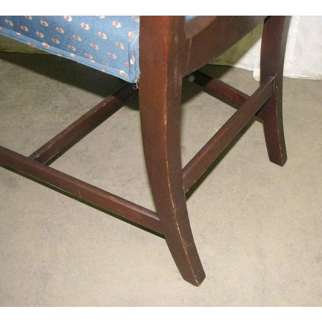 Antique Mahogany Dining Chairs - Set of 5 For Sale - Image 9 of 10