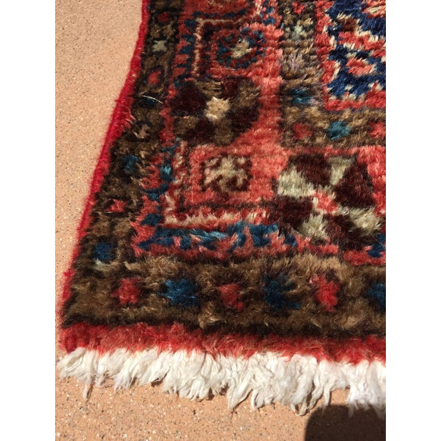 Small hand-knotted rug from Eastern Turkey, circa 1940. Size: 3ft 6 in x 5ft 8in. Traditional Turkish design and colors...