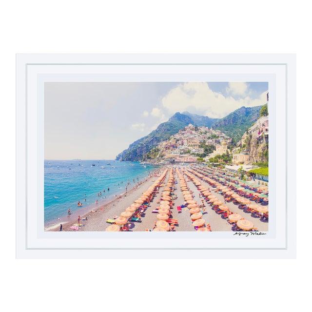 "Gray Malin Large ""Positano Vista"" (La Dolce Vita) Framed Limited Edition Signed Print - Image 1 of 5"