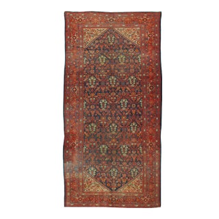 """Antique Malayer Rug 6' X 12'10"""" For Sale"""
