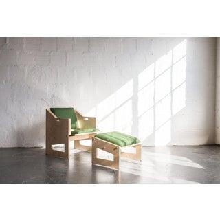 TGM Plywood Lounge Chair & Ottoman Preview