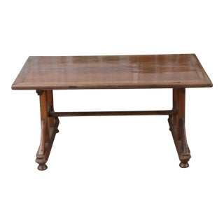 1950s Rustic Coffee Table For Sale