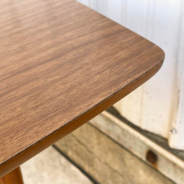 Mid-Century Dining Table With Two Leaves For Sale - Image 11 of 13