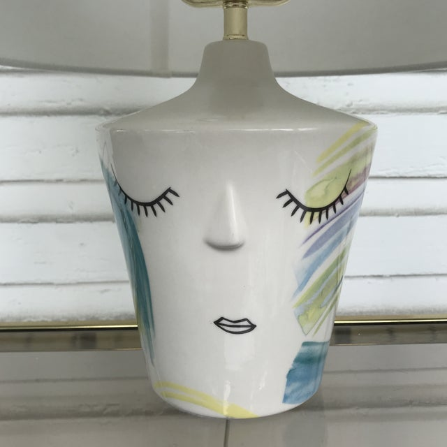 Abstract Anthropologie Marilyn Lamp For Sale - Image 3 of 6