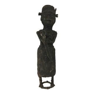 African Iron Figure