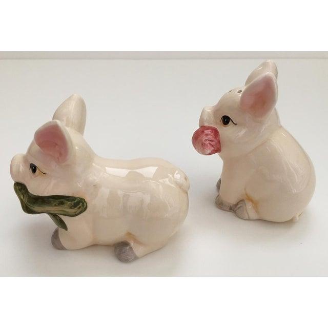 Pig Salt & Pepper Shakers - A Pair - Image 5 of 6