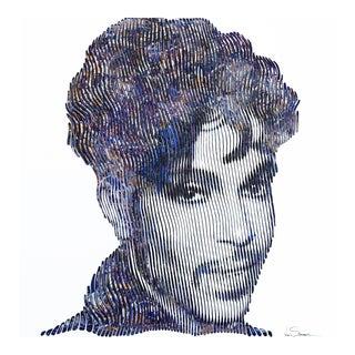 'Purple Rain Prince'' Original Artwork by Virginie Schroeder For Sale