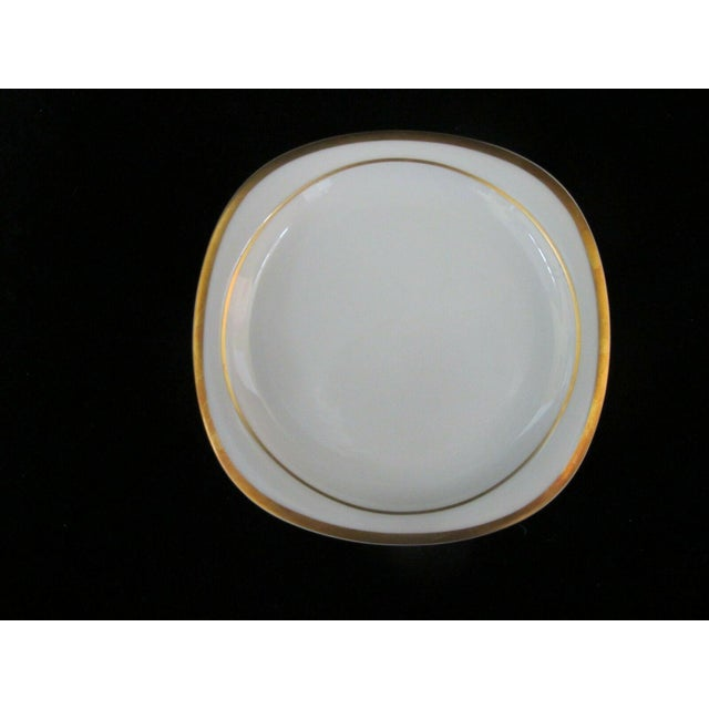 Late 20th Century Vintage Rosenthal Studio Banquet Suomi Series Gold Gilt Cup Plate Setting - 5 Piece Set For Sale - Image 5 of 9