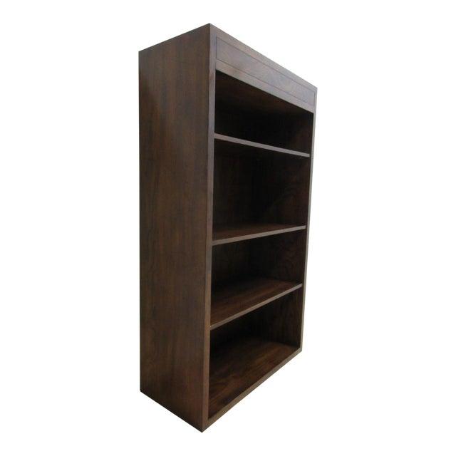 Henredon Oak Campaign Scene One Book Case Dresser For Sale