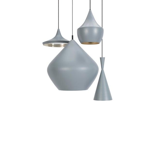 2010s Tom Dixon Beat Stout Pendant Grey For Sale - Image 5 of 8