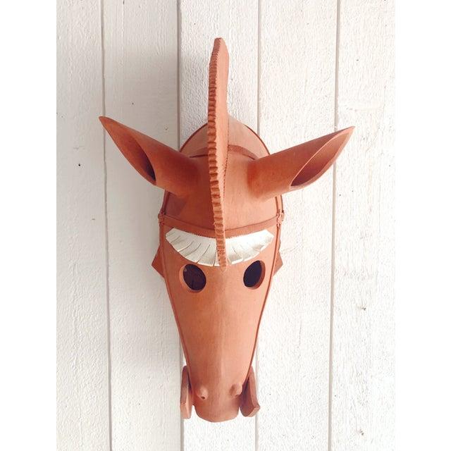 Wataru Sugiyama Mounted Haniwa Terra Cotta Horse Head Sculpture For Sale In Portland, OR - Image 6 of 6