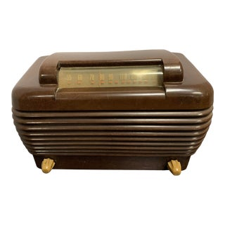 1940s Am Bakelite Radio For Sale