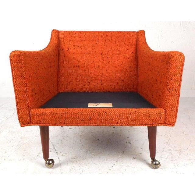 Mid-Century Modern Milo Baughman Armchairs - Set of 4 - Image 5 of 8