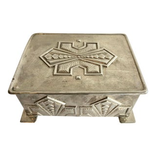 1930 Italian Small Art Deco Box For Sale