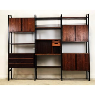 Mid-Century Danish Modern Rosewood Wall Bookcase Preview