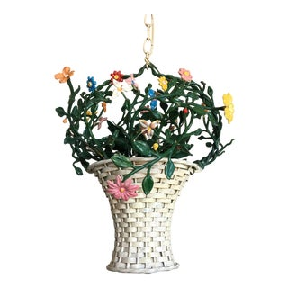 Italian Flower Basket Chandelier