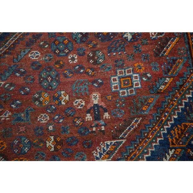 "Vintage Shiraz Carpet - 7'3"" X 9'5"" - Image 7 of 10"