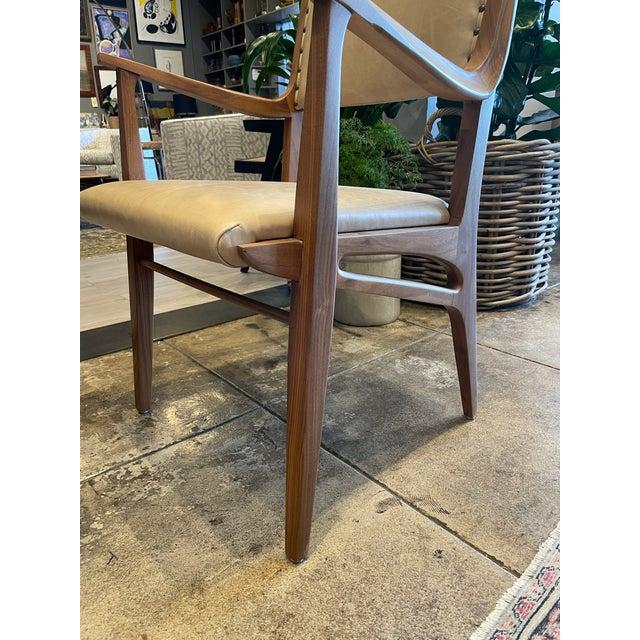 Set of 4 Van Koert Leather Chairs For Sale - Image 10 of 11