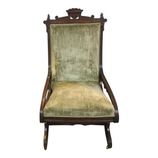 Antique East Lake Rocker For Sale