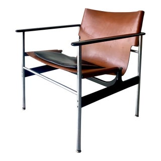 1950s Vintage Pollock for Knoll Lounge Chair For Sale