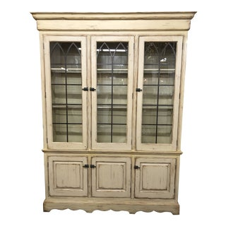 Woodland Furniture French Country Cabinet For Sale