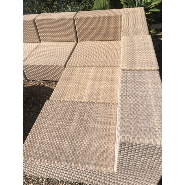 Janus et Cie Dedon Barcelona Lounge Sectional was purchased in 2011 for our new backyard. I was thrilled to own the...