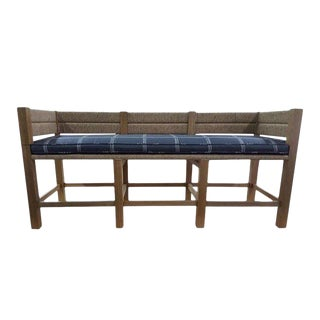 "Custom to Order ""La Made"" Collection Bench For Sale"