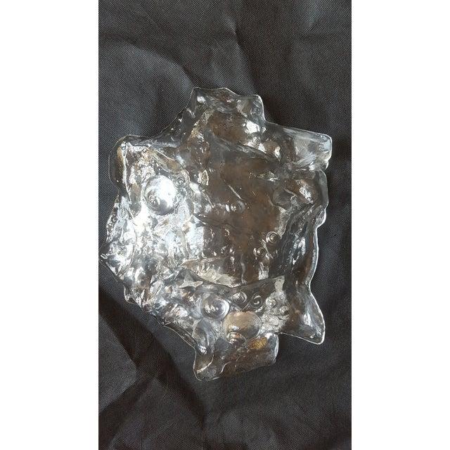 Modern Glass Decorative Bowl - Image 4 of 4
