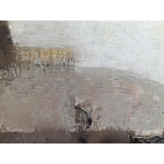 Stanley Bate Stanley Bate, Storm King Painting, Circa 1960 For Sale - Image 4 of 7