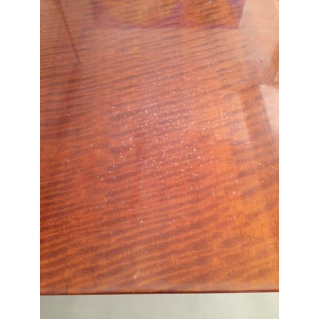 Leavitt Weaver Deco Burl Wood Console - Image 4 of 8