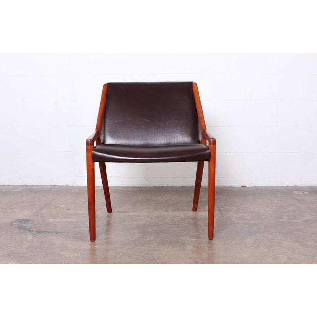 Lounge Chair by Ejner Larsen and Axel Bender Madsen for Willy Beck - Image 6 of 10