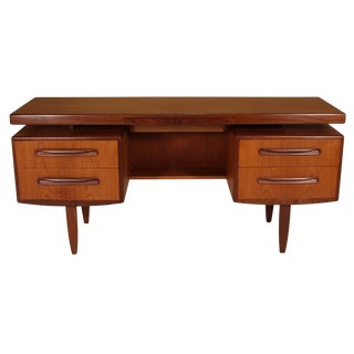 Mid Century G Plan Fresco Teak Desk/Vanity For Sale