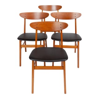 Set of Six Farstrup Møbelfabrik Teak Danish Modern Dining Chairs, 1960s (Set of Four) For Sale