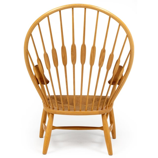 Hans Wegner for Johannes Hansen 'Peacock Chair', ca. 1947 For Sale In New York - Image 6 of 10