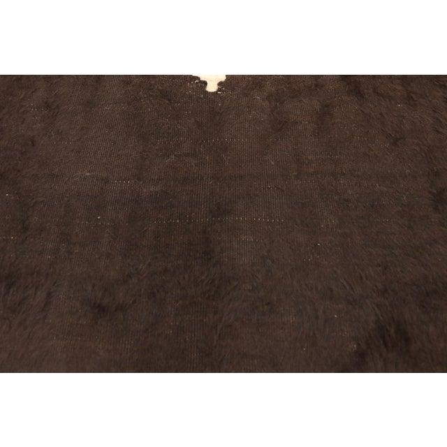Vintage Turkish Angora Blanket Rug - 04'00 X 04'06 For Sale - Image 4 of 9