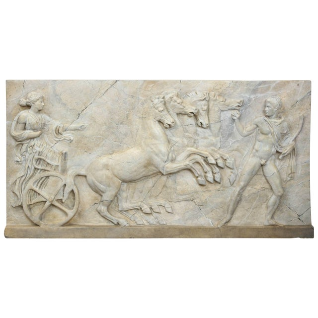 Neoclassical Plaster Panel For Sale - Image 9 of 9