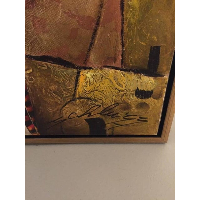 "Gold Original David Schluss ""Hera, Queen of Heaven"" For Sale - Image 8 of 8"