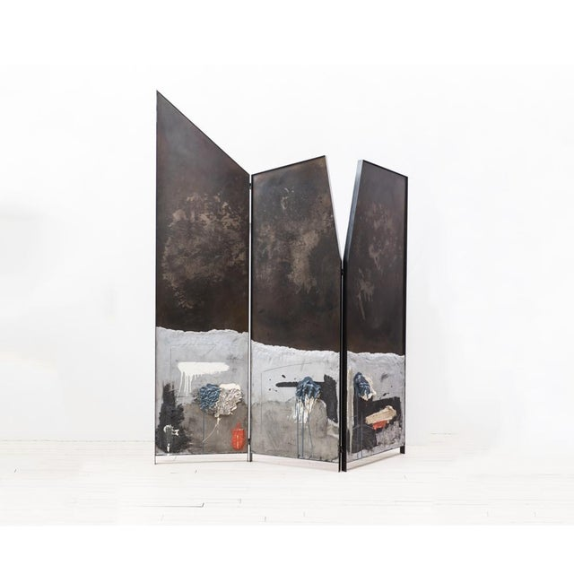 Metal Screen Triptych, Usa, 2019 For Sale - Image 7 of 11