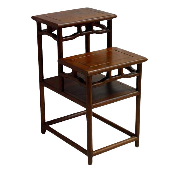 Stacking Accent Tabel Made of Reclaim Wood For Sale