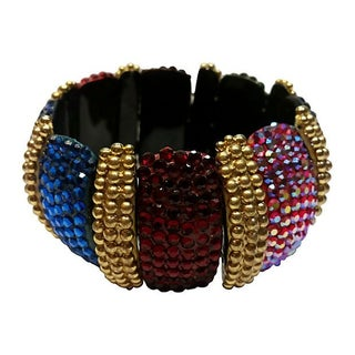 Richard Kerr Crystal Statement Bracelet