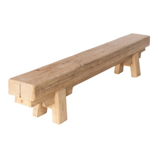 Sarreid LTD Joist Beam Bench