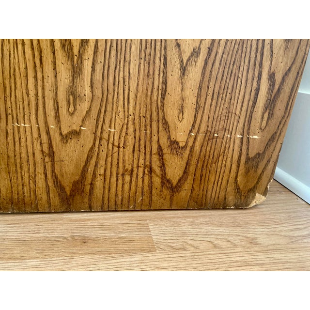 Late 20th Century Dixie Campaign 3 Drawer Dresser For Sale - Image 10 of 13