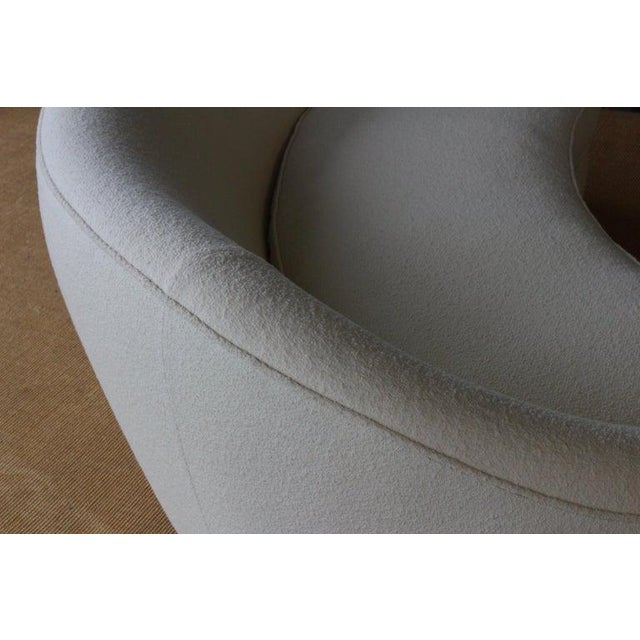 Modern Curved Boucle Sofa, Italy, 1960s For Sale - Image 11 of 13