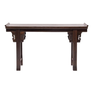 Chinese Altar Table With Everted Ends For Sale