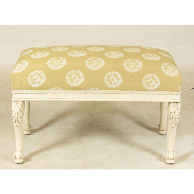 19th C. French Painted Bench For Sale - Image 11 of 11