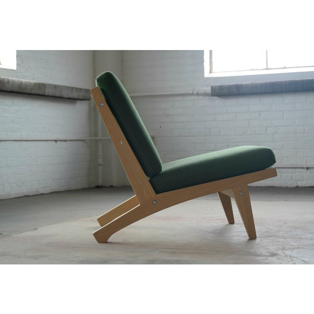 Green Hans Wegner Easy Chair Model GE370 for GETAMA, 1960s For Sale - Image 8 of 10